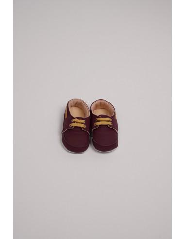 Pantofi baieti - grena