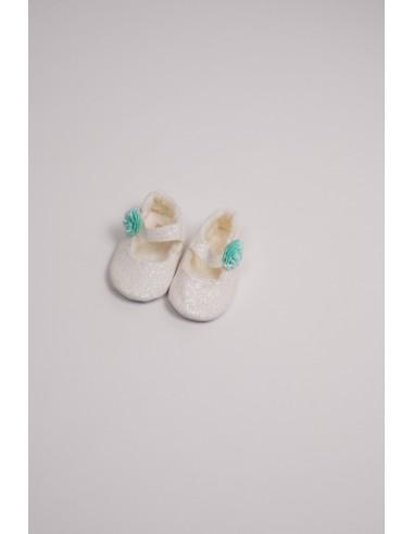 Pantofi fete - alb