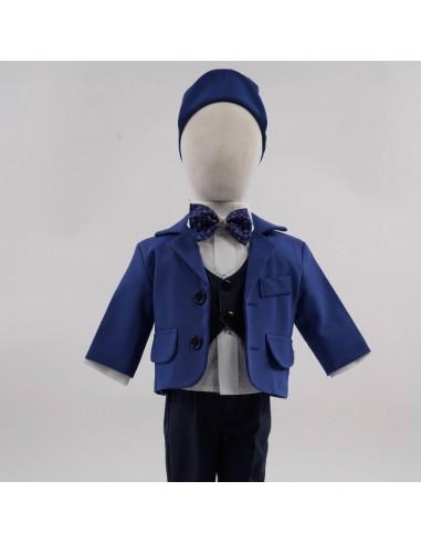 Costum clasic - albastru